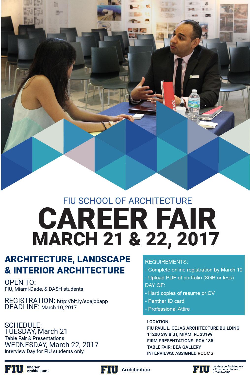 School Of Architecture Career Fair