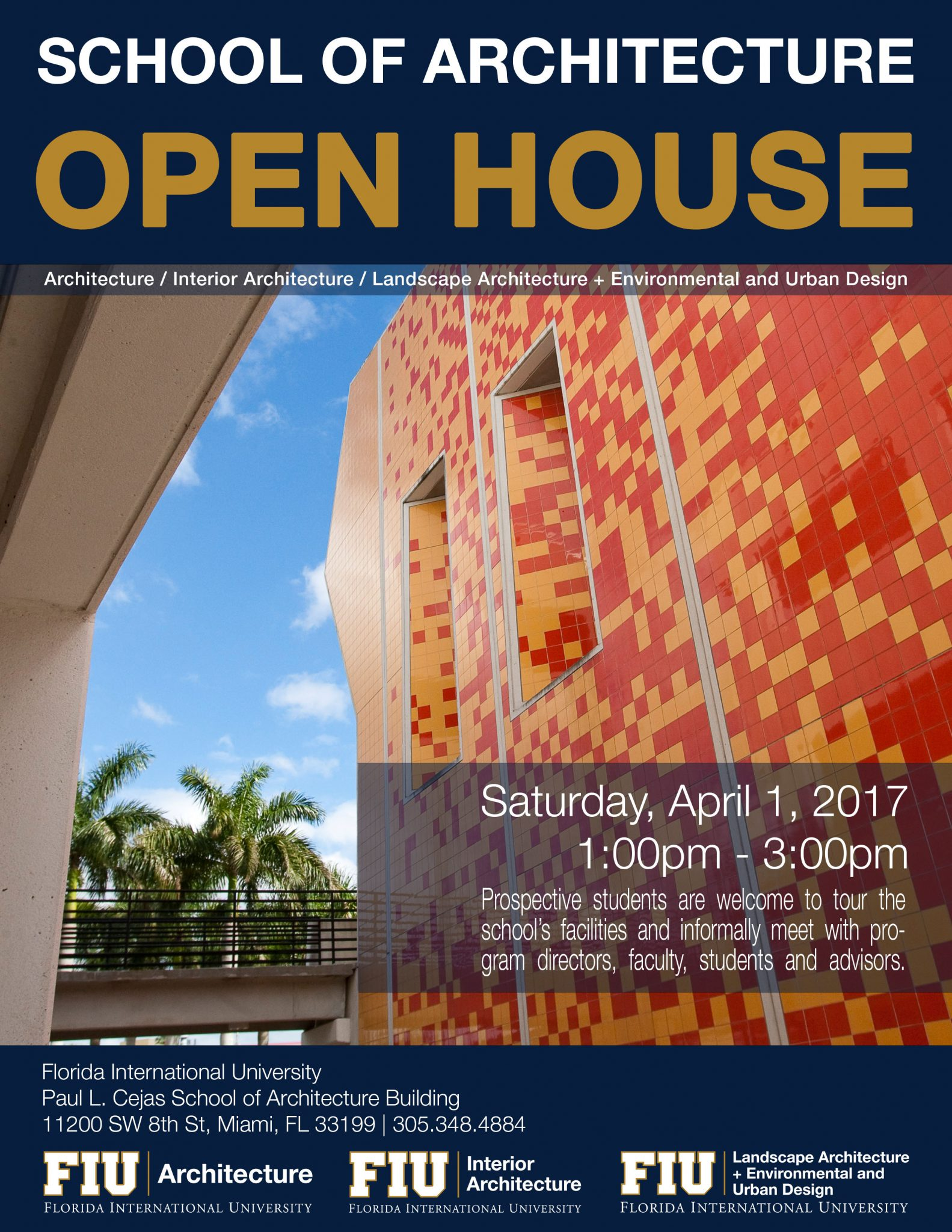 School Of Architecture Open House