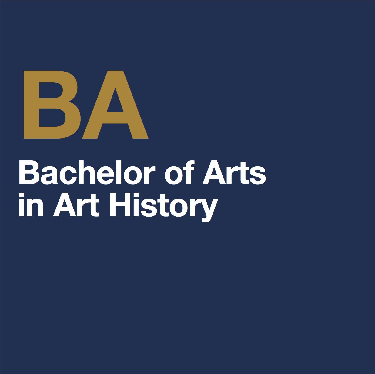 BA Art History