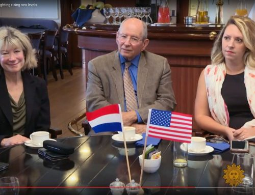 """Marilys Nepomechie, Associate Dean of CARTA on CBS Sunday Morning program: """"Lessons from Holland on fighting rising sea levels"""""""