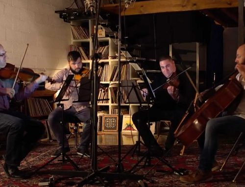 Amernet String Quartet plays Beethoven 'Pathétique' Sonata, op. 13 (arr. Jeffery Briggs)
