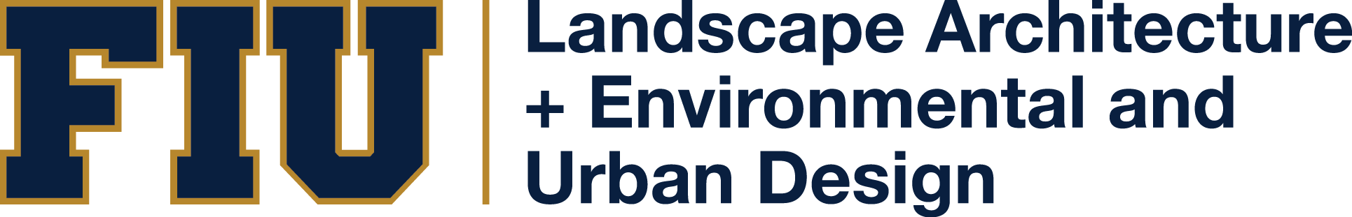 Department of Landscape Architecture Retina Logo