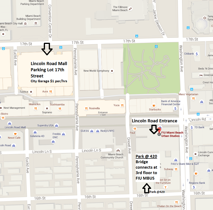 map directions to FIU MBUS