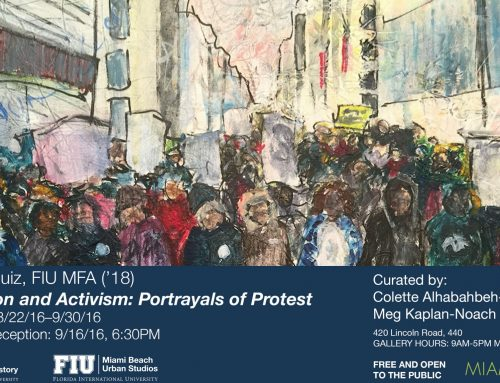 Activation and Activism: Portrayals of Protest by Maricel Ruiz