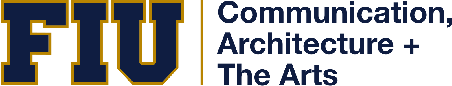 College of Communication, Architecture + The Arts Retina Logo
