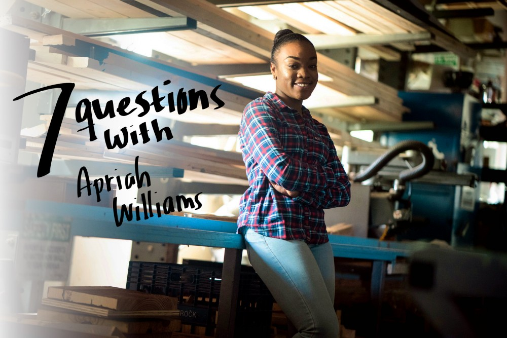7 Questions With Apriah Williams