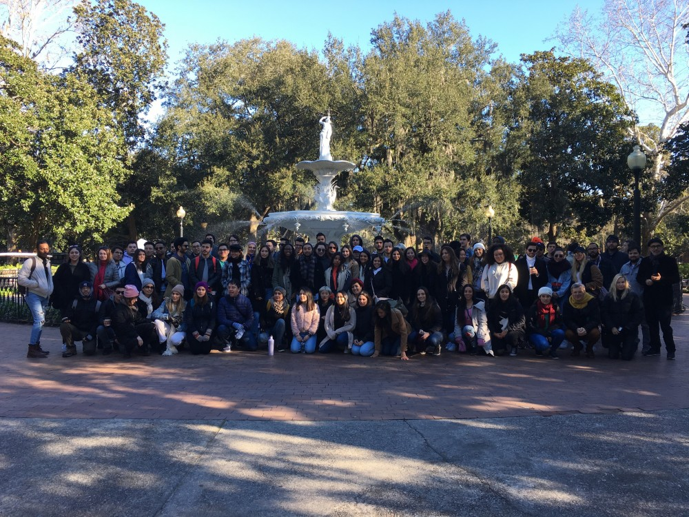 FIU Architecture Students and Faculty Visit Savannah, Georgia