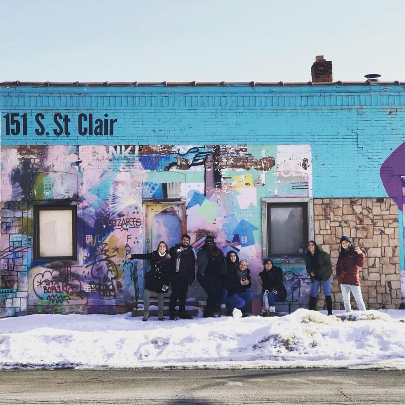 FIU LAEUD Graduate Design Studio visits Toledo, Ohio