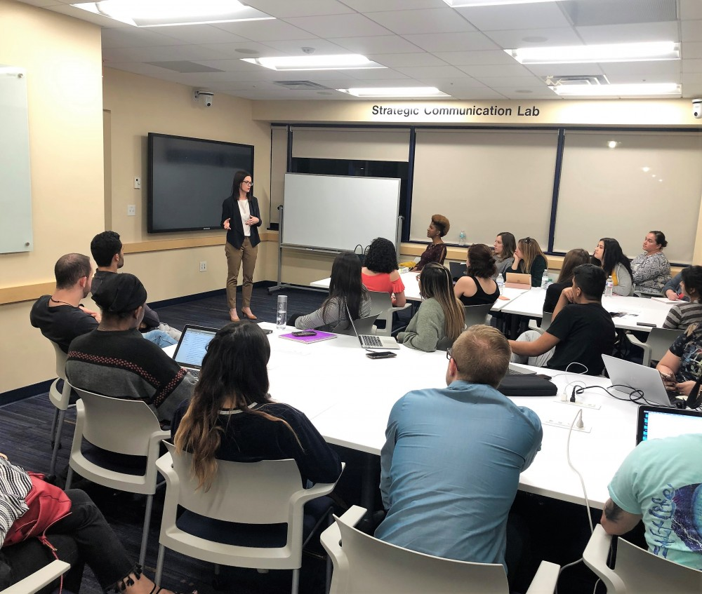 SCJ Alumni Share Experiences & Insight with Students During Panther Alumni Week 2019