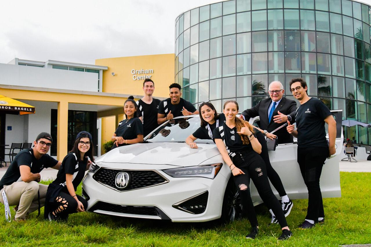 SCJ Students in FIU AMA Compete Against 19 Universities in Acura ILX Marketing Challenge