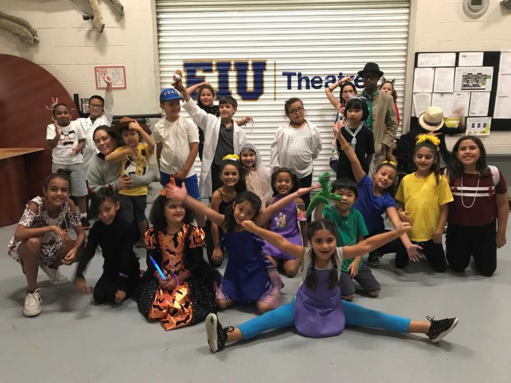 FIU Theatre's Summer Camp Gives Students a Chance to Explore Their Creative Side