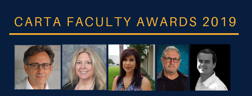 CARTA ASSEMBLY AWARDS TOP FACULTY MEMBERS FOR EXCELLENCE