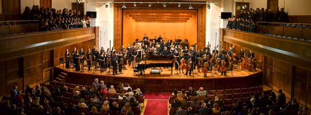 State Department-Sponsored Tour of Guernica Piano Concerto Takes Music Faculty to Serbia