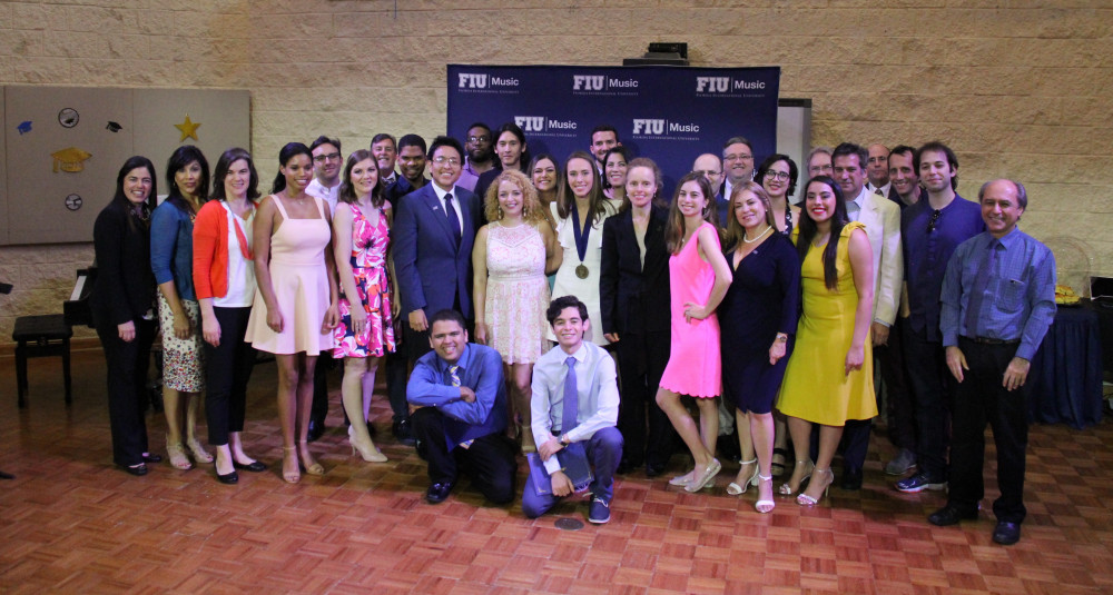 Music Graduates Recognized at Annual Spring Awards Ceremony