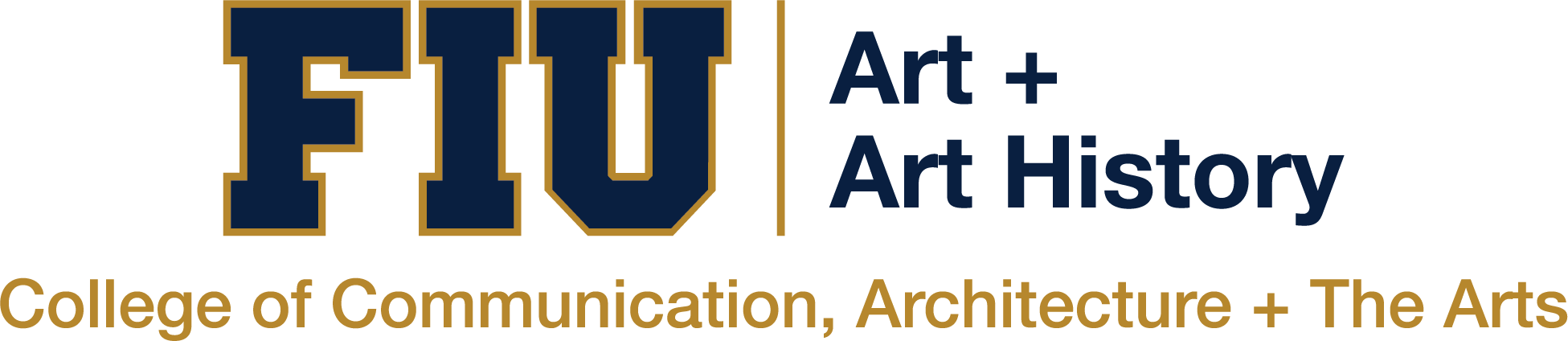 Department of Art + Art History Logo