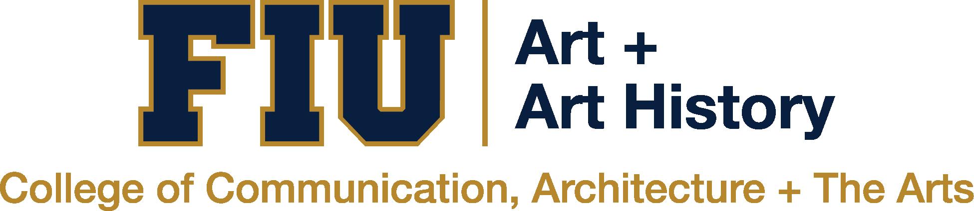 Department of Art + Art History Logo