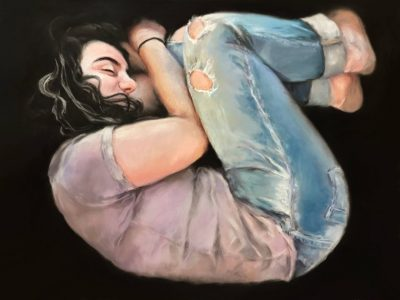 Lizzie Hunter, Matias, 2018, Oil on Canvas 24 x 18 inches