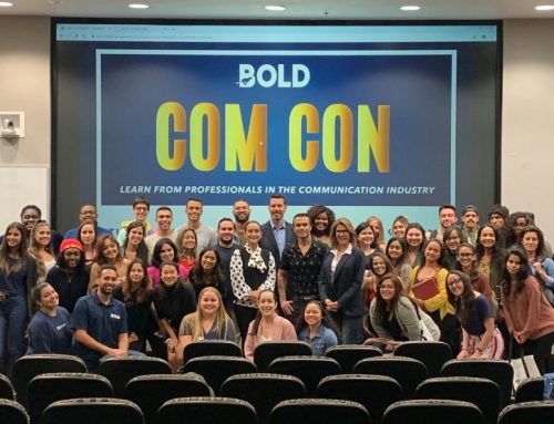 BOLD SPRINGS INTO ACTION WITH THIRD-ANNUAL COM CON!