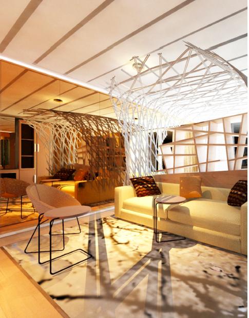 Carmen Ferrer & Luisa Lashman- Cruise Ship and Super Yacht Design Spring 2013