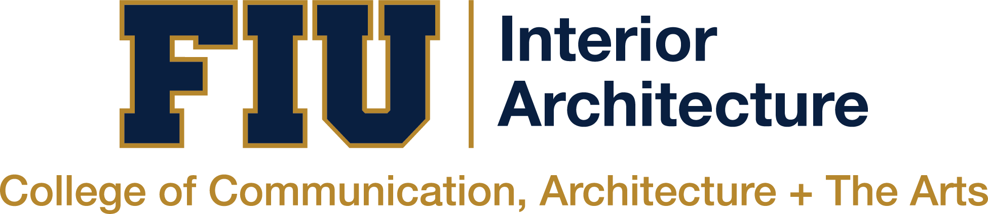 Department of Interior Architecture Logo