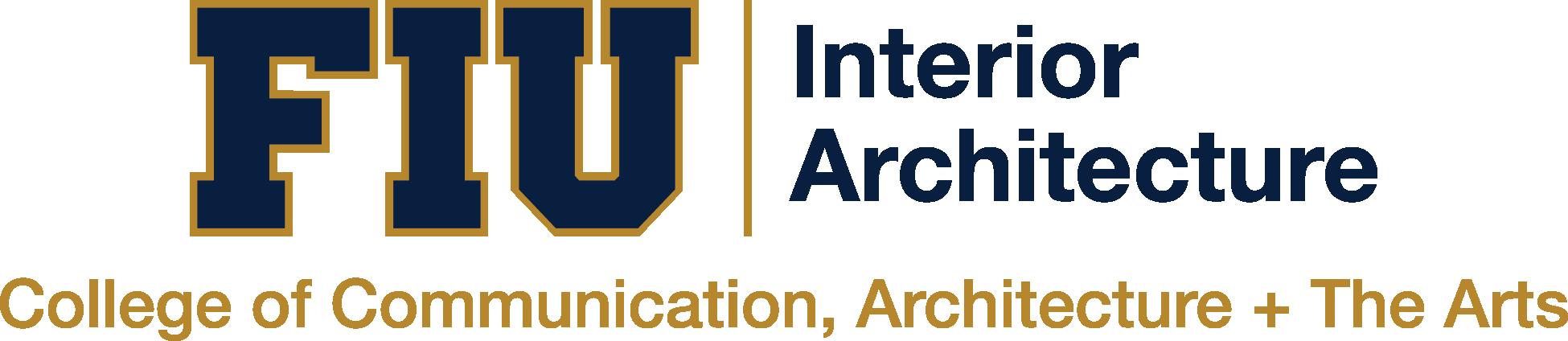 Department of Interior Architecture Logo