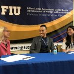 Alumni Panel: Moderator: Margo Berman / Panelist: Tina Varjabedian and Noël Valentine Walter