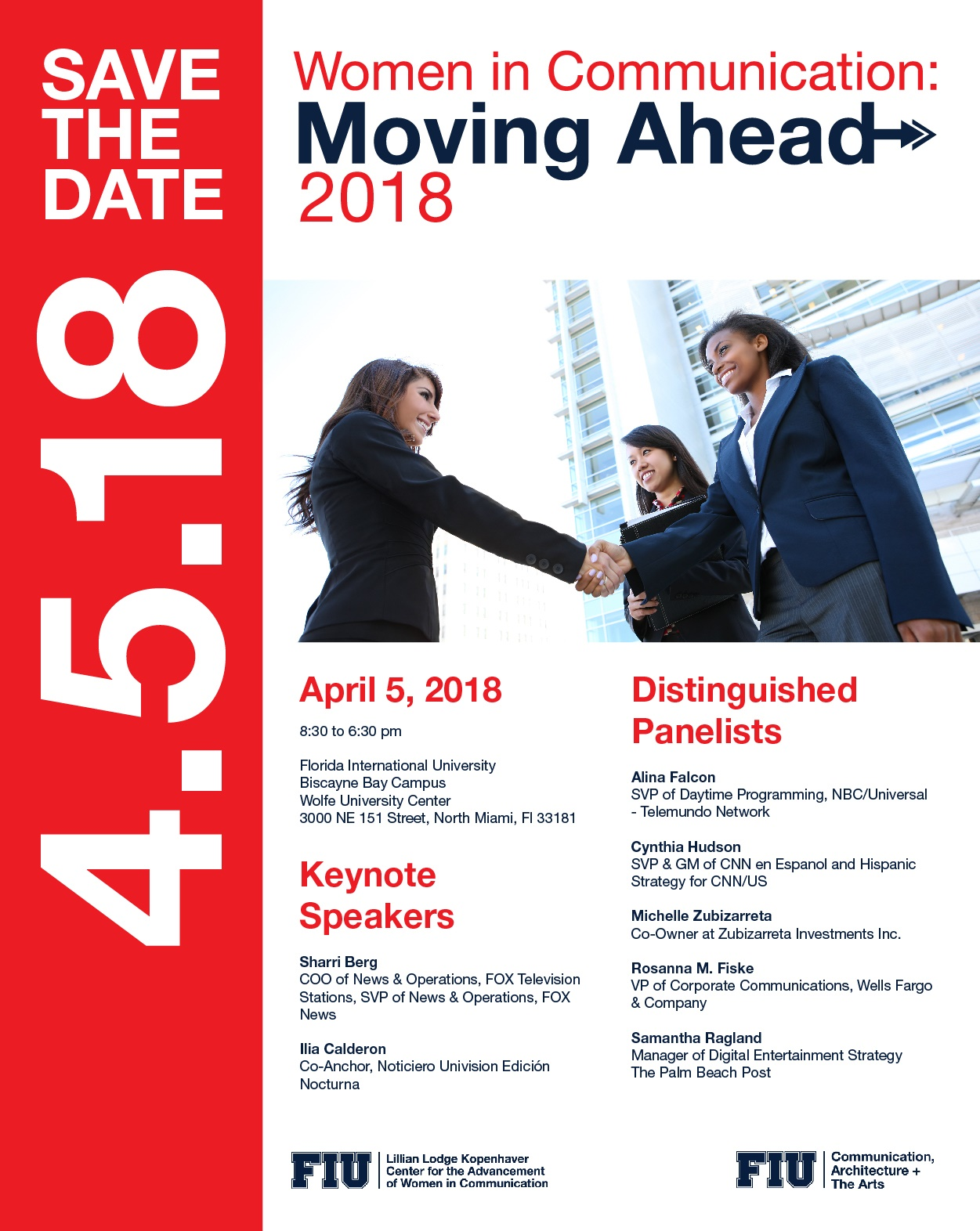 2018 Women in Communication: Moving Ahead Conference - LLK
