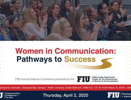 """2020 Kopenhaver Center Conference – """"Women in Communication: Pathways to Success."""""""