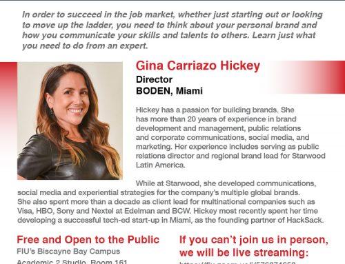 Leadership Webinar Series – Gina Carriazo Hickey