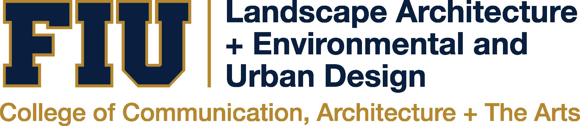 Department Of Landscape Architecture Department Of Landscape Architecture