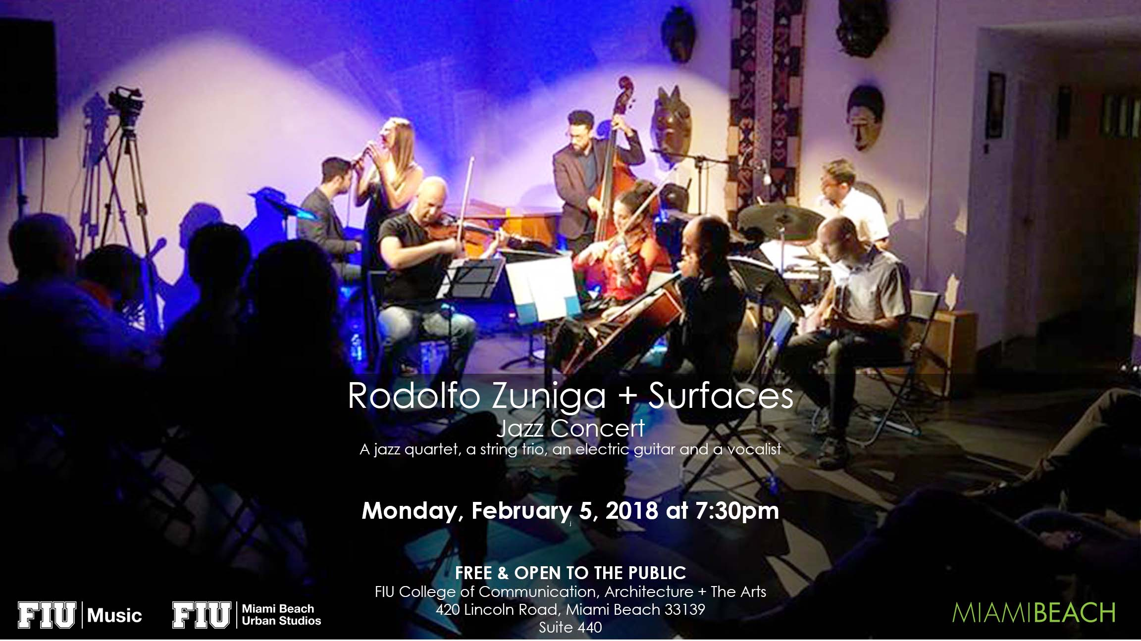 Jazz Concert Rodolfo Zuniga Surfaces