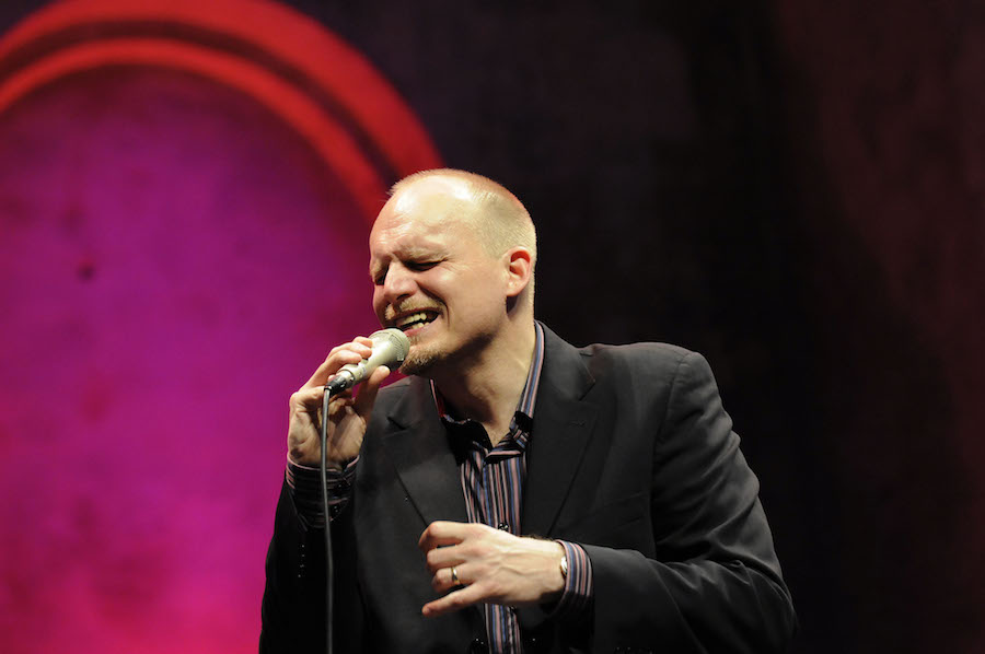 Grammy Winner Darmon Meader from New York Voices and the FIU Jazz Vocal  Ensemble