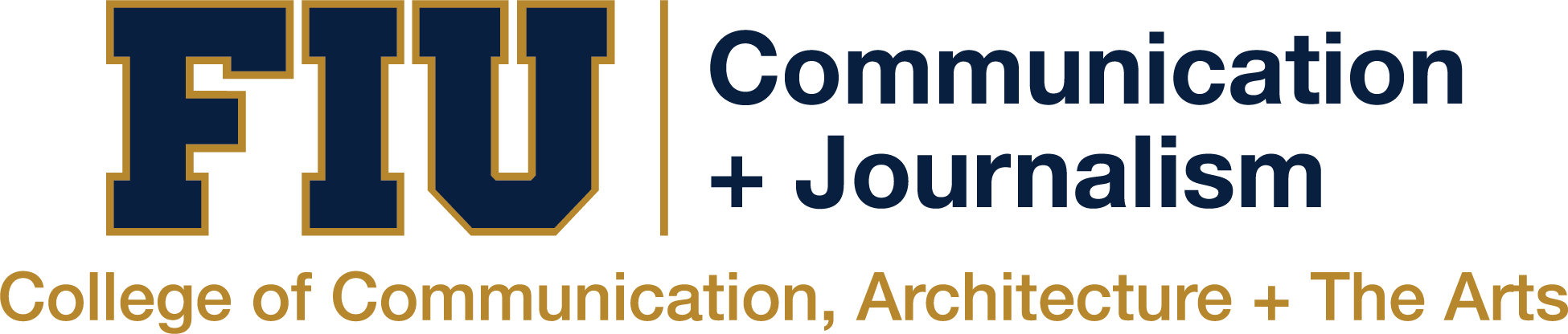 School of Communication + Journalism Logo