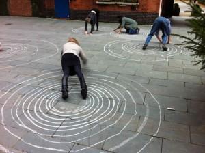 Spiral, Drawing Gym Workshop, Thinking Through Drawing Symposium 2015