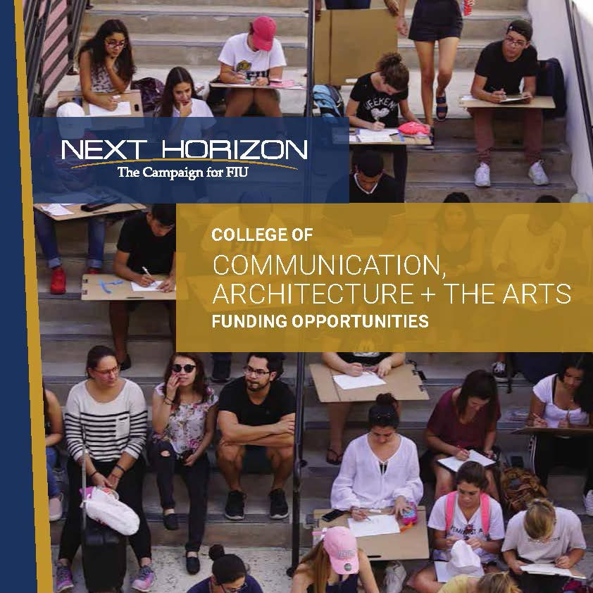 FIU - College of Communication, Architecture + The Arts
