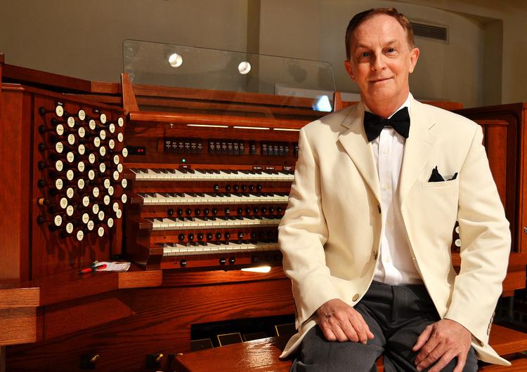 School of Music Showcases Organ Recital featuring William Dan Hardin