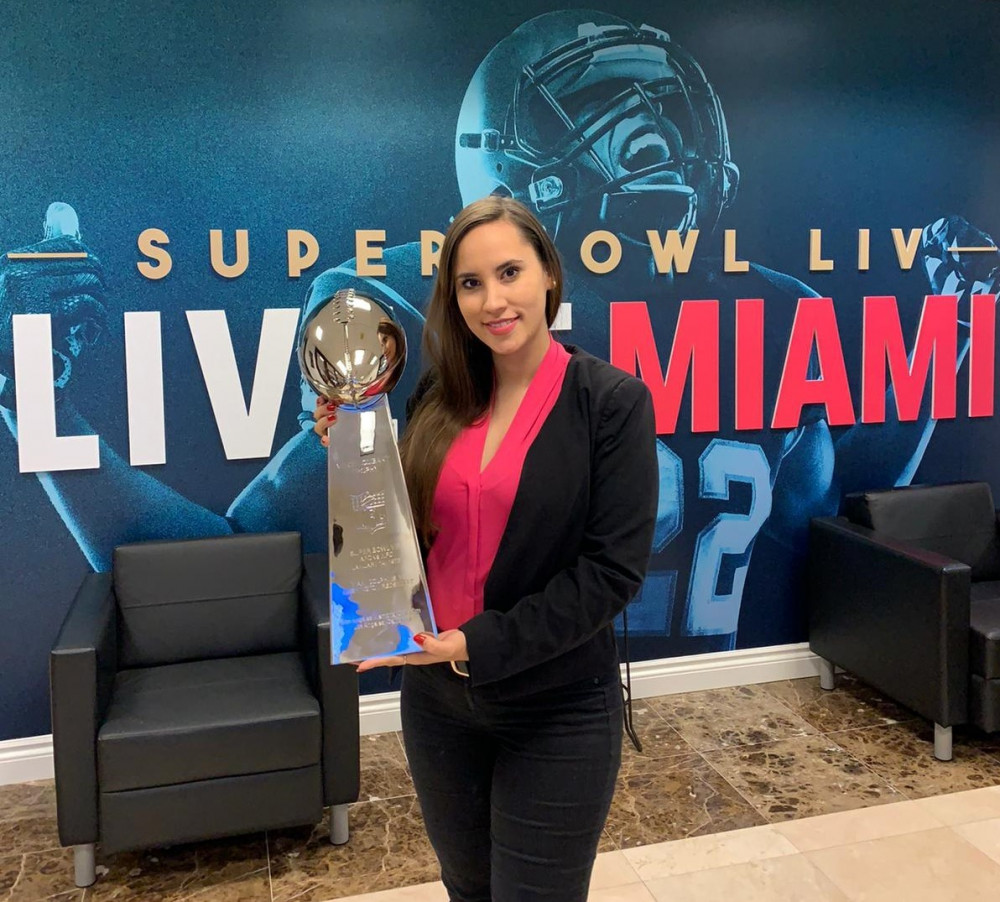 MY INTERNSHIP WITH THE MIAMI SUPER BOWL HOST COMMITTEE