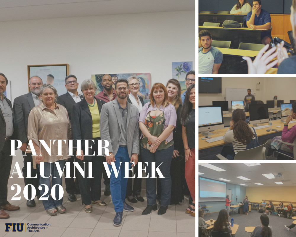 PANTHER ALUMNI WEEK 2020: CARTA ALUMNI PREPARE STUDENTS FOR LIFE AFTER GRAD