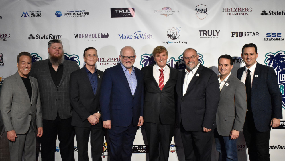 FIU iSTAR: PRESENTING SPONSOR AT LEIGH STEINBERG'S SUPER BOWL PARTY