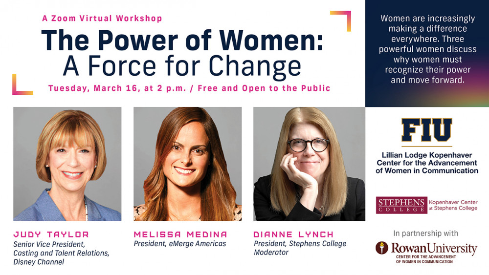 """Kopenhaver Center hosts """"The Power of Women: A Force for Change"""" to help women recognize their power"""