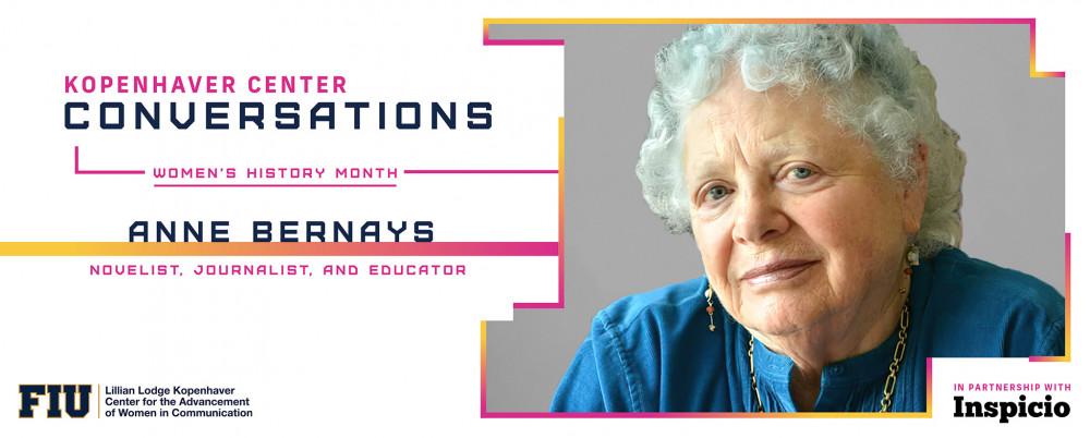Anne Bernays ~ Women's History Month