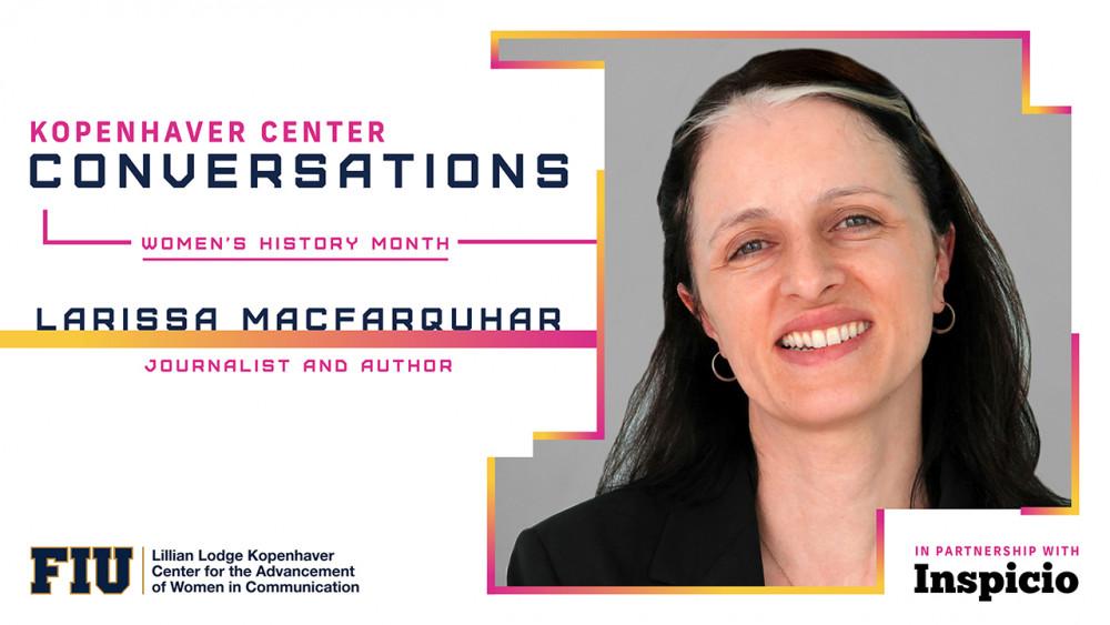 Larissa MacFarquhar ~ Women's History Month